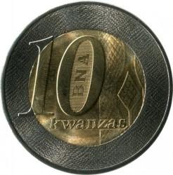Moneda > 10Kwanzas, 2012 - Angola  - reverse