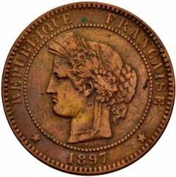Moneta > 10centesimi, 1870-1898 - Francia  - obverse