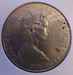 Moneda > 1dólar, 1974-1983 - Islas Vírgenes Británicas  - obverse