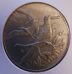 Moneta > 1dollaro, 1974-1983 - Isole Vergini Britanniche  - obverse