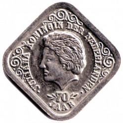 Moneda > 5centavos, 1979 - Países Bajos  (70th Anniversary - Birth of Queen Julianna) - obverse