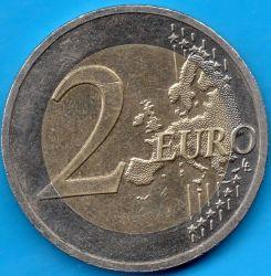 Moneda > 2euros, 2016 - Letonia  (Latvian Brown) - reverse