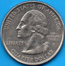 Coin > ¼dollar, 2017 - USA  (George Rogers Clark National Historical Park) - obverse