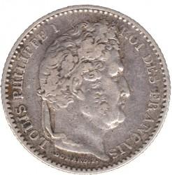 מטבע > 25סנטים, 1845-1848 - צרפת  - obverse
