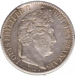 Moneta > 50centesimi, 1845-1848 - Francia  - obverse