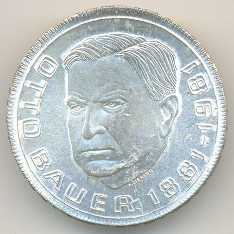 500 Schilling 1981 Otto Bauer österreich Münzen Wert Ucoinnet