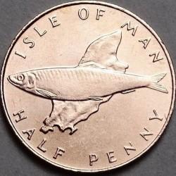 Pièce > ½penny, 1976-1979 - Île de Man  - reverse