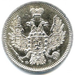 Münze > 10Kopeken, 1832-1858 - Russland  - reverse