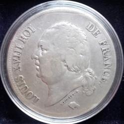 العملة > ٥فرنك, 1816-1824 - فرنسا  - obverse