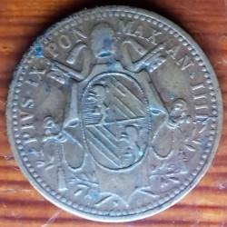 Монета > ½байокко, 1847-1849 - Папська область  - obverse