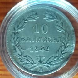Монета > 10байокко, 1836-1846 - Папська область  - reverse
