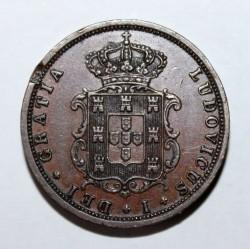 Кованица > 5реиса, 1867-1879 - Португал  - obverse