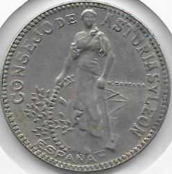Монета > 2песеты, 1937 - Испания - Гражданская война  - obverse