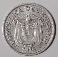 سکه > 10سنتاوو, 1976 - اکوادور  - obverse