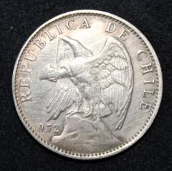Münze > 1Peso, 1915-1917 - Chile  - obverse
