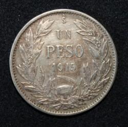 Münze > 1Peso, 1915-1917 - Chile  - reverse
