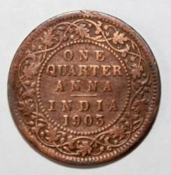 Монета > ¼анна, 1903-1906 - Индия - Британская  - reverse