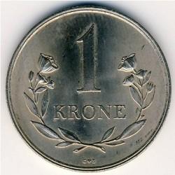 Монета > 1крона, 1960-1964 - Гренландія  - reverse
