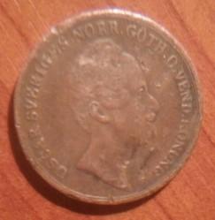 Монета > ⅔скилингбанко, 1845-1855 - Швеция  - obverse
