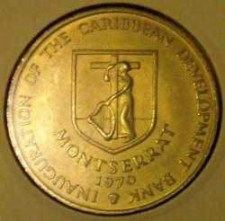 Moeda > 4dólares, 1970 - Montserrat  (FAO) - reverse