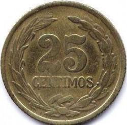Монета > 25сентимів, 1944 - Парагвай  - reverse