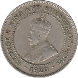 Moneda > 1penique, 1914-1928 - Jamaica  - obverse