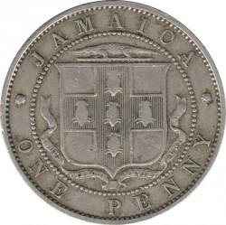 Moneda > 1penique, 1914-1928 - Jamaica  - reverse