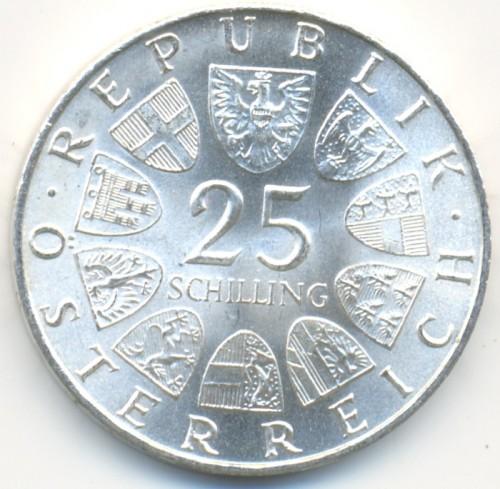 25 Schilling 1969 Peter Rosegger österreich Münzen Wert Ucoinnet