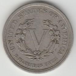"""Moneda > 5centavos, 1883 - Estados Unidos  (Liberty Nickel, without """"CENTS"""") - reverse"""