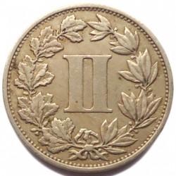 Νόμισμα > 2Σεντάβος, 1882-1883 - Μεξικό  - reverse