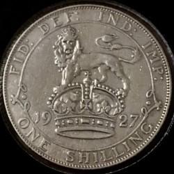Νόμισμα > 1Σελίνι, 1927 - Ηνωμένο Βασίλειο  (Old reverse: 19 CROWN 27) - reverse