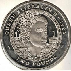 Кованица > 2фунте, 2007 - Јужна Џорџија  (Elizabeth II) - reverse