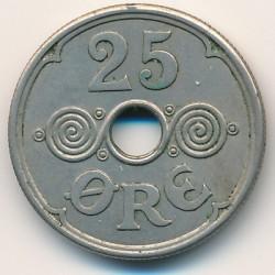 Moneda > 25ore, 1941 - Islas Feroe  - reverse