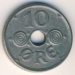 Monedă > 10ore, 1941 - Insulele Feroe  - obverse