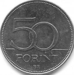 Монета > 50форинтов, 2012-2018 - Венгрия  - reverse