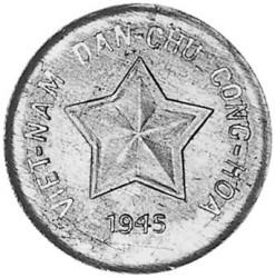 Монета > 20ксута, 1945 - Виетнам  - obverse