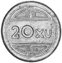 Монета > 20ксута, 1945 - Виетнам  - reverse