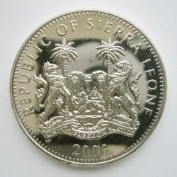 Moneta > 1dollaro, 2006 - Sierra Leone  (Dinosauri - Triceratopo) - obverse