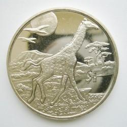 Moneta > 1dollaro, 2005 - Sierra Leone  (Animali - Giraffa) - reverse