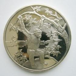 Pièce > 1dollar, 2006 - Sierra Léone  (Animaux - Chimpanzé) - reverse