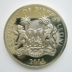 Moneta > 1dollaro, 2006 - Sierra Leone  (Animali - Cammello) - obverse