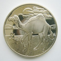 Moneta > 1dollaro, 2006 - Sierra Leone  (Animali - Cammello) - reverse