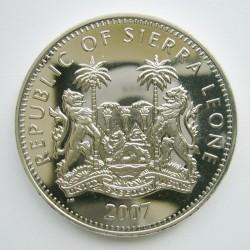 Νόμισμα > 1Δολάριο, 2007 - Σιέρρα Λεόνε  (Animals - Rhino) - obverse
