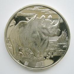 Νόμισμα > 1Δολάριο, 2007 - Σιέρρα Λεόνε  (Animals - Rhino) - reverse