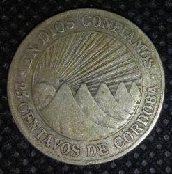 Moeda > 25centavos, 1912-1936 - Nicarágua  - reverse