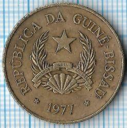 Moneta > 2½pesos, 1977 - Gwinea-Bissau  - obverse