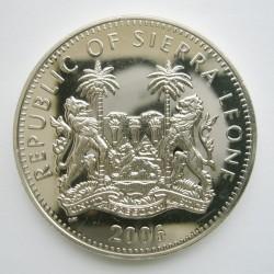 Moneta > 1dollaro, 2006 - Sierra Leone  (Dinosauri - Tyrannosauro) - obverse