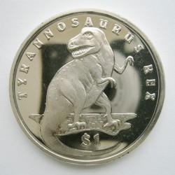 Moneta > 1dollaro, 2006 - Sierra Leone  (Dinosauri - Tyrannosauro) - reverse