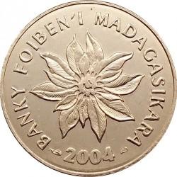 العملة > 1أرياري, 2004 - مدغشقر  (Number 1 below the word ARIARY) - obverse