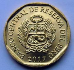 سکه > 10سنتیمو, 2017 - پرو  - obverse